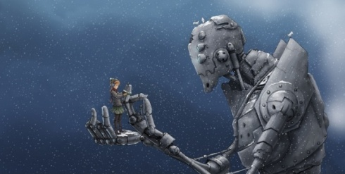 niña-robot